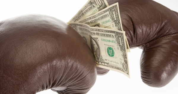 Boxing Gloves Money