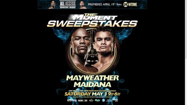 Floyd mayweather vs marcos maidana boxing poster