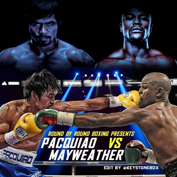Pacquiao boxing poster