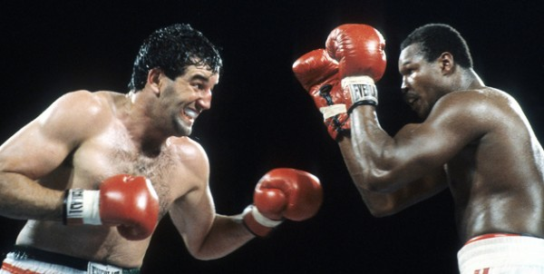 Gerry Cooney Larry Holmes