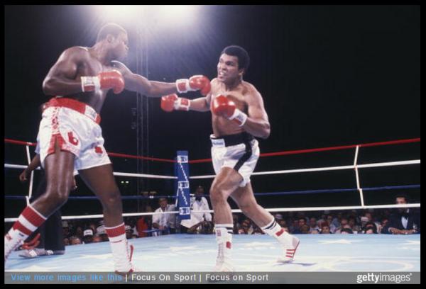 Larry Holmes Muhammed Ali - Focus On Sport
