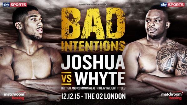 Joshua vs. Whyte Banner