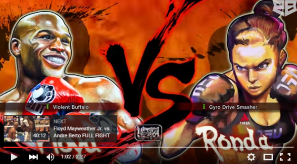 Mayweather vs. Rousey