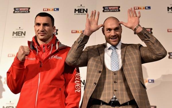 ***BESTPIX*** Wladimir Klitschko v Tyson Fury - Press Conference