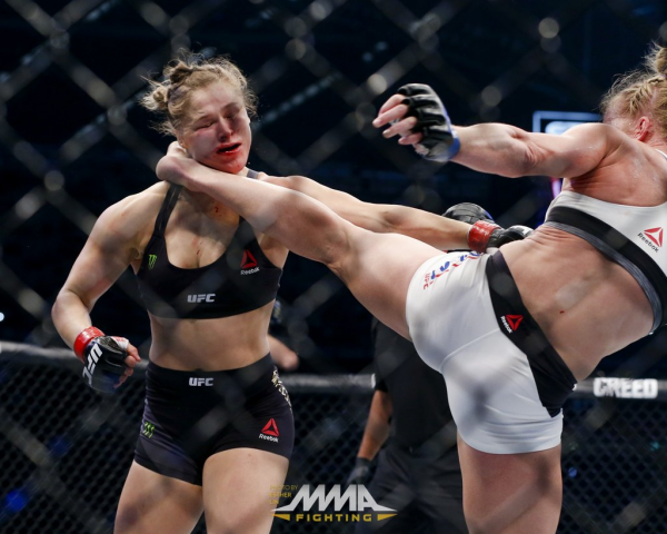 Rousey - Holm - Esther Lin