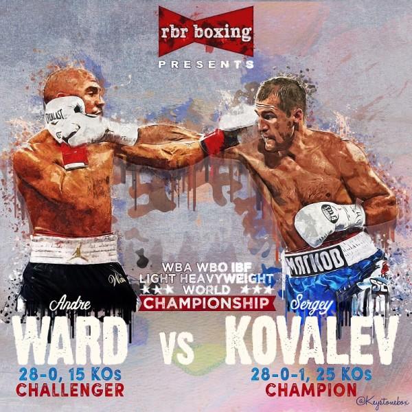 3. Sergey Kovalev vs. Andre Ward