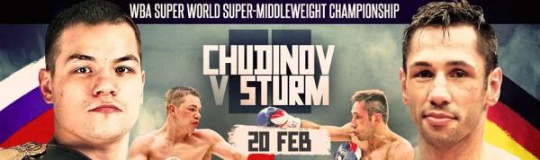 Chudinov vs. Sturm
