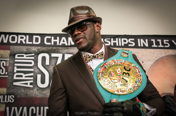 Deontay Wilder, Charles Martin - Marilyn Paulino RBRBoxin (16)