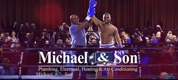 Michael and Sons - Mike Tyson