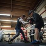 Canelo Alvarez and Amir Khan Open Training Camp
