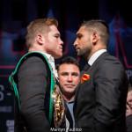 Canelo Alvarez vs. Amir Khan: NYC Press Conference Quotes & Photos