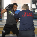 James DeGale London Media Workout Photos and Quotes