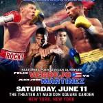 June 11 on HBO: Rocky Martinez vs. Vasyl Lomachenko