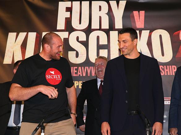 Fury Klitschko