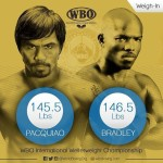 Pacquiao vs. Bradley Weigh-In Results & Photos