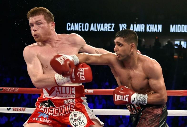Canelo Alvarez v Amir Khan