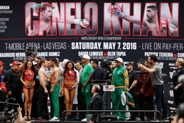 Canelo Alvarez v Amir Khan - Weigh-in