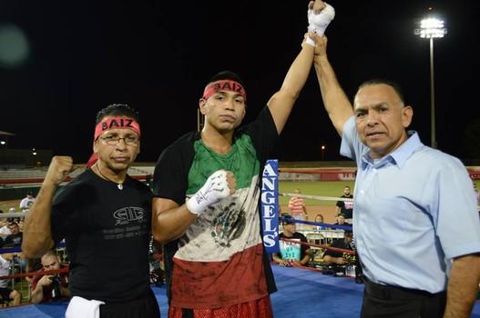 Daniel Baiz - Robert Elizondo of Boxeo Imperio