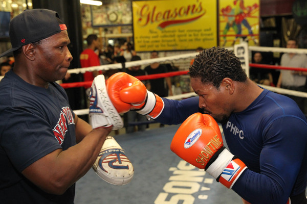 Porter Celebrity Sparring Session_Training camp_Ed Diller _ Premier Boxing Champions