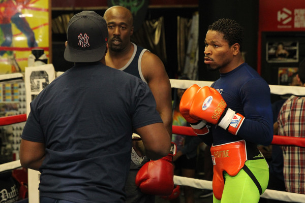 Porter Celebrity Sparring Session_Training camp_Ed Diller _ Premier Boxing Champions1