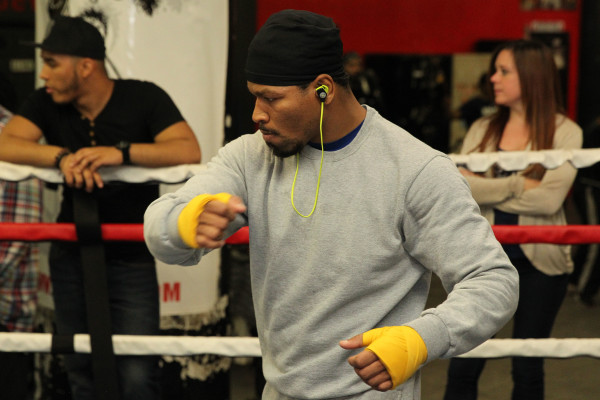 Porter Celebrity Sparring Session_Training camp_Ed Diller _ Premier Boxing Champions10