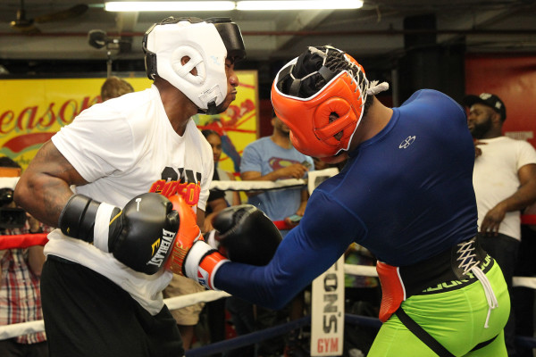 Porter Celebrity Sparring Session_Training camp_Ed Diller _ Premier Boxing Champions3