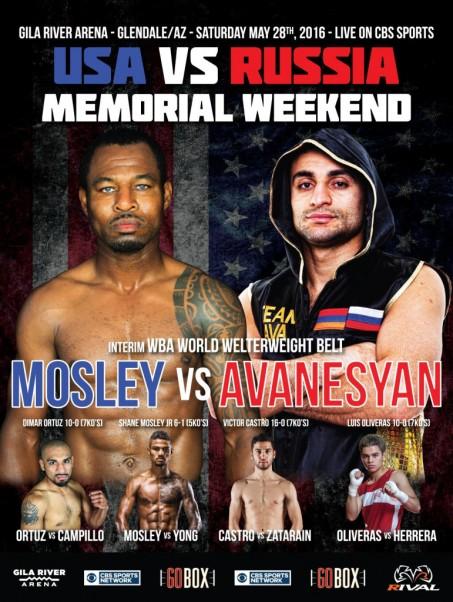 Shane Mosley vs. David Avanesyan
