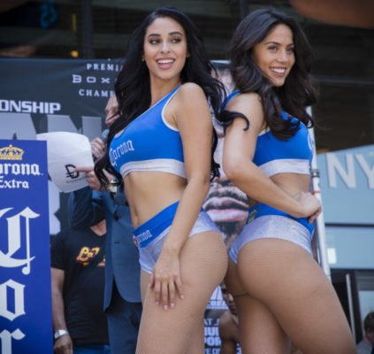 corona girls The corona ring girls for the floyd mayweather vs conor mcgregor super fight were unveiled at the fight week festivities in las vegas website:.