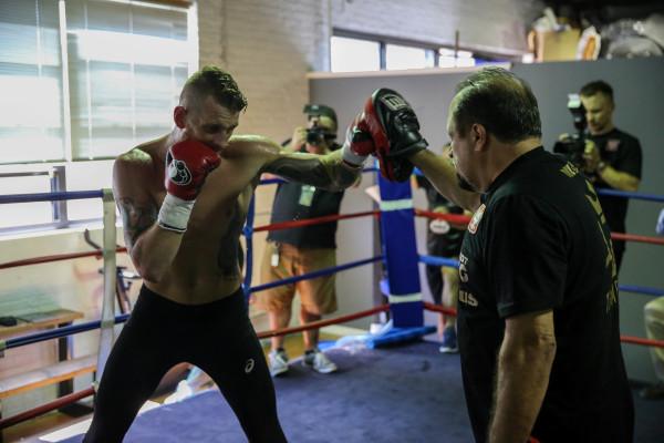 Andrzej Fonfara _Workout_Nabeel Ahmad _ Premier Boxing Champions