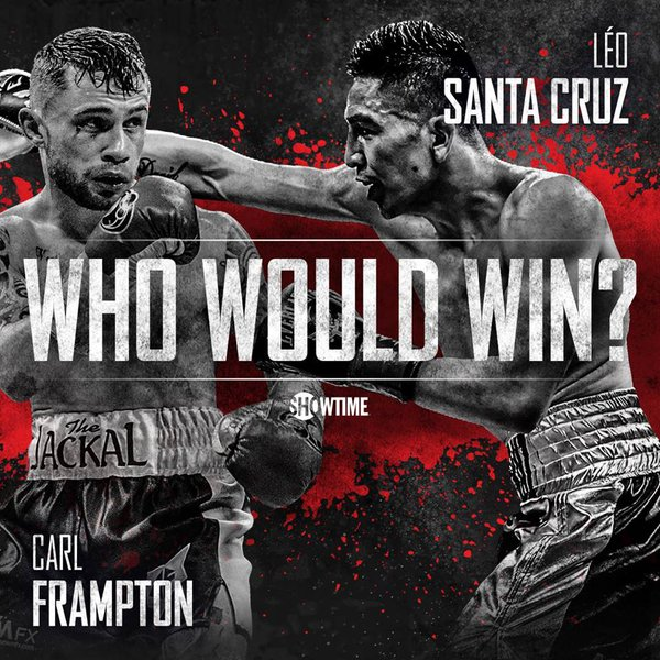 Leo Santa Cruz Carl Frampton