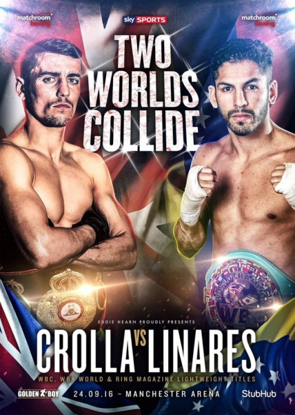 Anthony Crolla vs. Jorge Linares