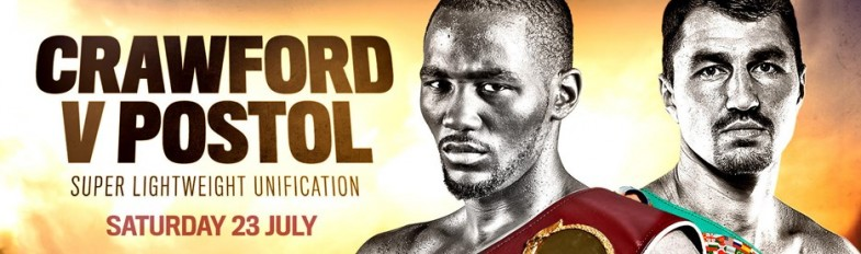 Crawford vs. POstol Banner