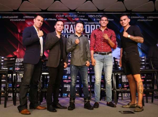 Crawford vs. Postol Undercard Presser - Mikey Williams Top Rank3