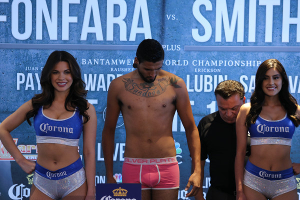 Daniel Sandoval_Weigh-in_Nabeel Ahmad _ Premier Boxing Champions