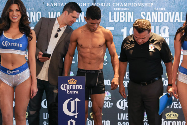 Juan Carlos Payano_Weigh-in_Nabeel Ahmad _ Premier Boxing Champions