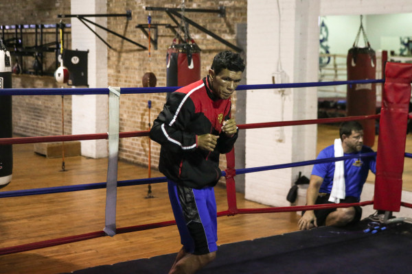 Juan Carlos Payano_Workout_Nabeel Ahmad _ Premier Boxing Champions2