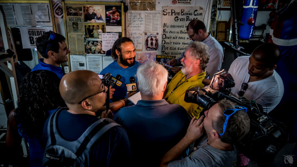 Keith Thurman Media Day - Andrew Cleary RBRBoxing (1)