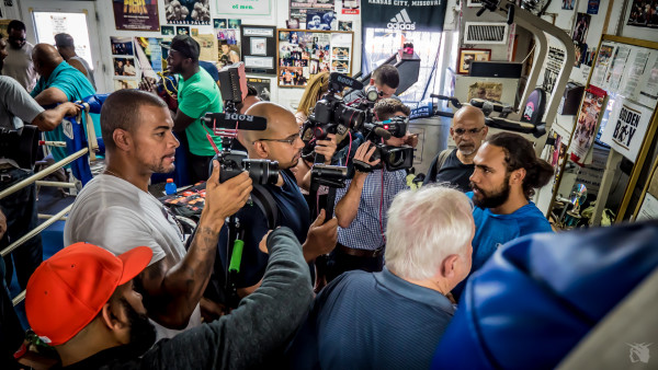 Keith Thurman Media Day - Andrew Cleary RBRBoxing (3)
