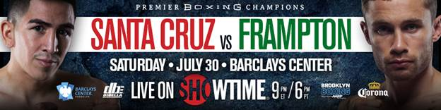 Leo Santa Cruz vs. Carl Frampton