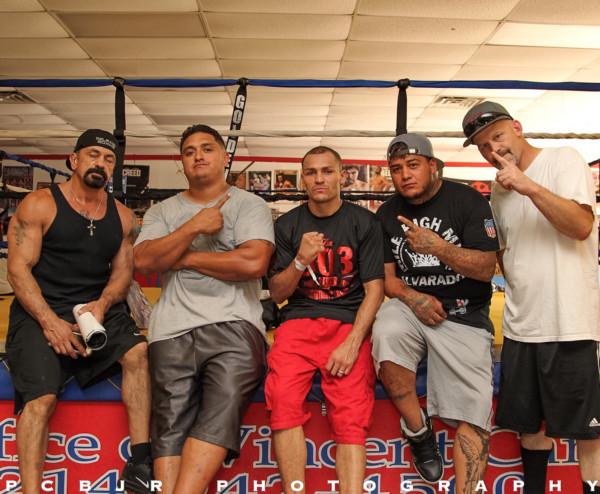 Mike Alvarado Media Day - Jr. Barron RBRBoxing (3)
