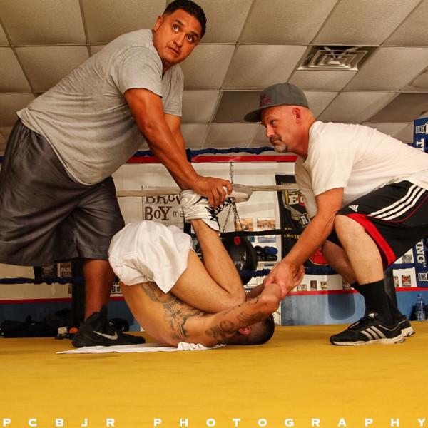 Mike Alvarado Media Day - Jr. Barron RBRBoxing (5)
