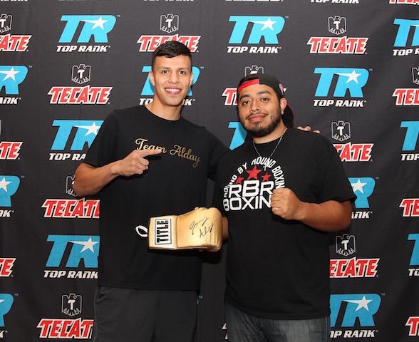 Mike Alvarado vs. Josh Torres Weigh In - Porfirio Barron Jr. RBRBoxing.JPGIMG_7484