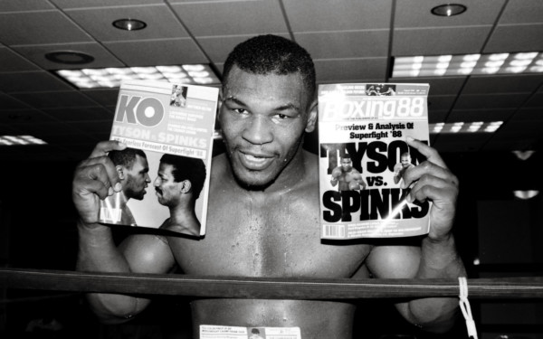 Mike Tyson Ring Magazine Getty