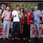 Vargas vs. Salido: Final Press Conference Photos, Video & Quotes