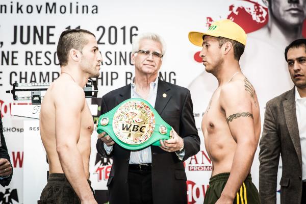 weigh in-0018 (Dejan Zlaticanin and Franklin Mamani)