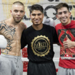 Leo Santa Cruz, Mikey Garcia & Ivan Redkach Los Angeles Media Workout Quotes & Photos