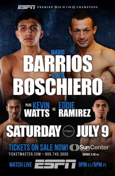 Mario Barrios vs. Devis Boschiero