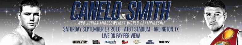 Canelo Alvarez vs. Liam Smith