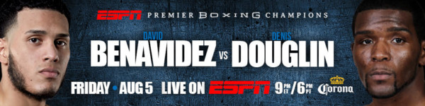 David Benavidez vs. Dennis Douglin