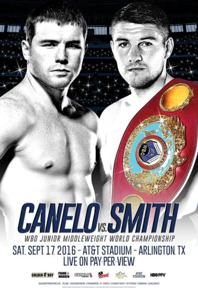 Canelo Alvarez Liam Smith
